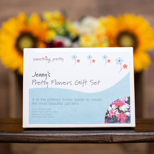 Pretty Flower Seeds Gift Pack