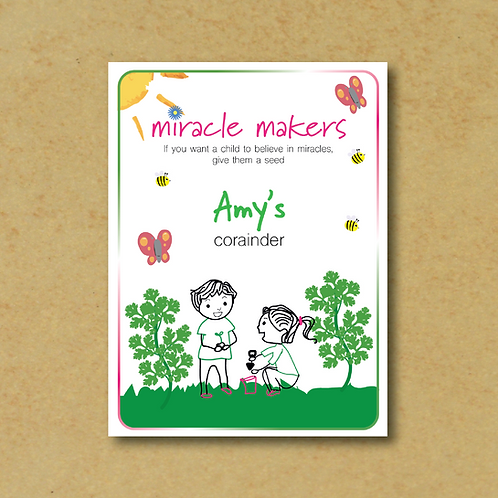 Miracle Maker Coriander Seeds
