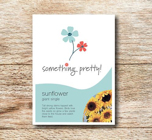 Sunflower (Giant Single) Seeds