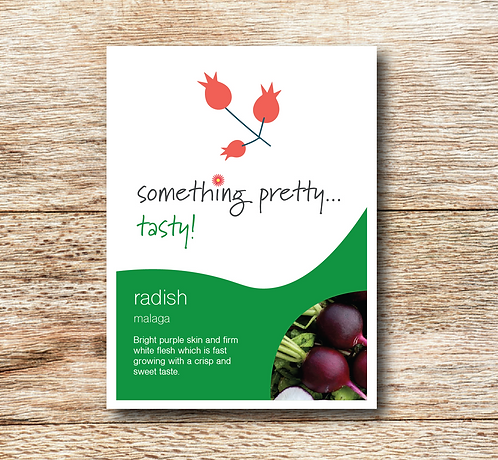 Radish (Malaga) Seeds