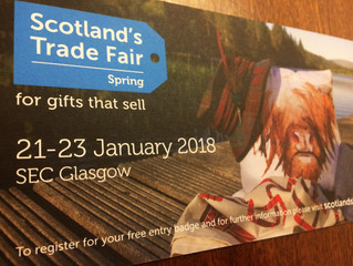 Scottish Trade Fair here we Come