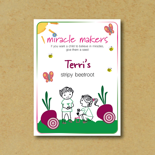 Miracle Maker Stripy Beetroot Seeds