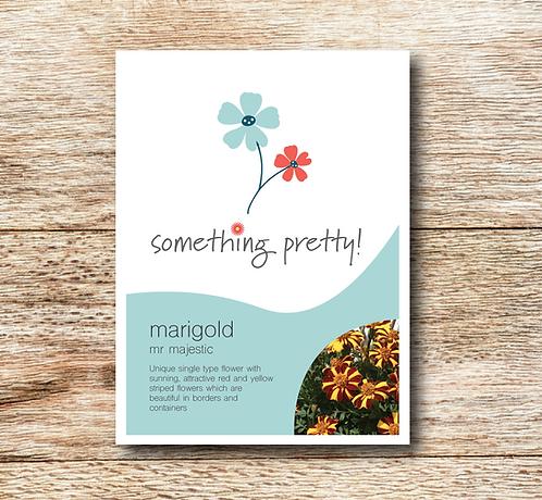 Marigold Mr Majestic Seeds