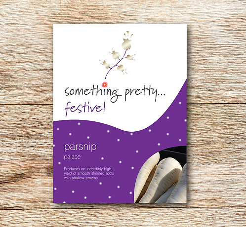 Festive Parsnip (Palace) Seeds