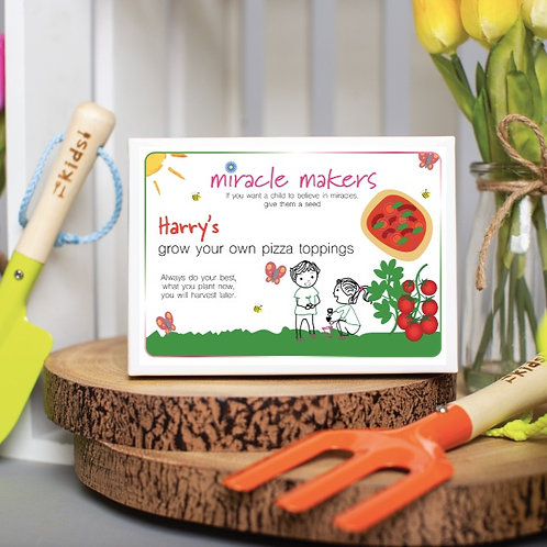 Children's Grow Your Own Pizza Toppings Gift Set
