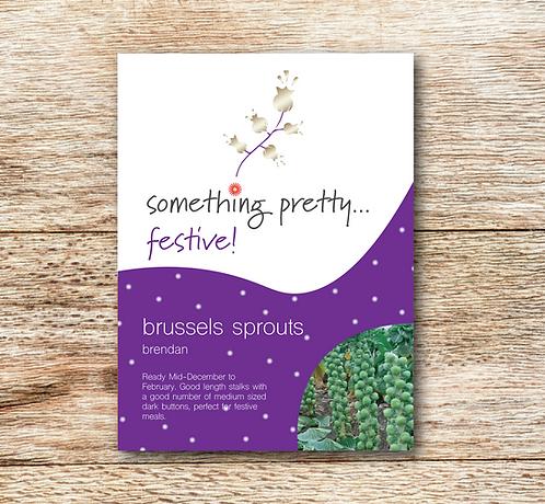 Festive Brussels Sprouts (Brendan) Seeds