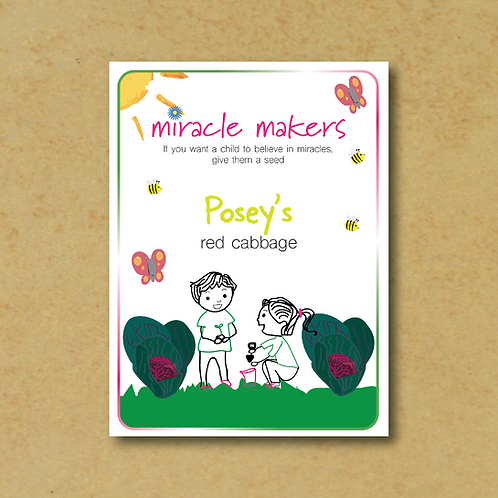 Miracle Maker Red Cabbage Seeds