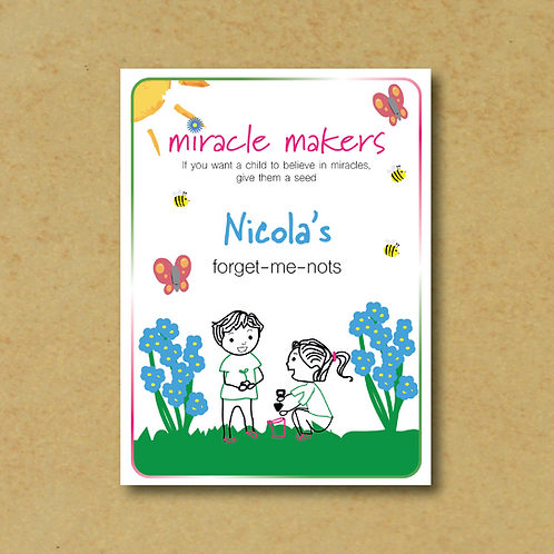 Miracle Makers Forget-Me-Not Seeds