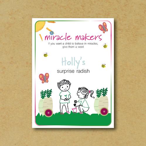 Miracle Maker Surprise Radish Seeds