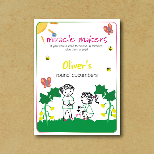 Miracle Maker Round Cucumber Seeds
