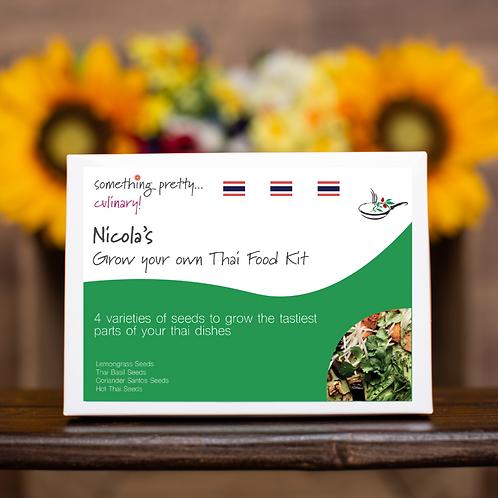 Grow Your Own Thai Food Gift Set