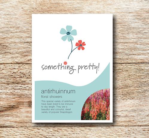 Antirrhinum (Snapdragon) Floral Showers