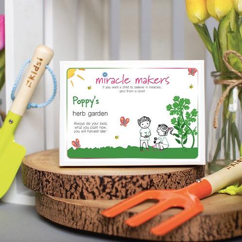 Children's Grow Your Own Herb Garden Gift Set