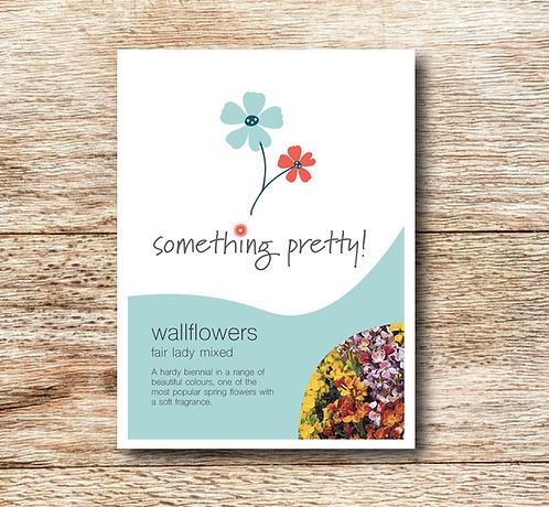 Wallflower My Fair Lady Mixed Seeds