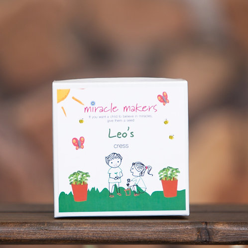 Personalised Children's Grow Your Own Cress Gift Set