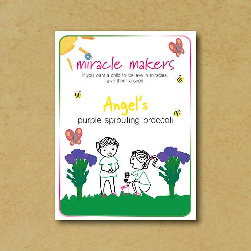 Miracle Maker Purple Broccoli Seeds