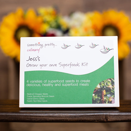 Grow Your Own Superfoods Gift Set