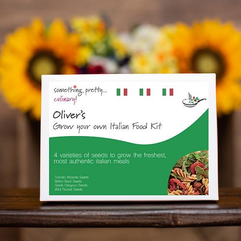 Grow Your Own Italian Food Gift Set