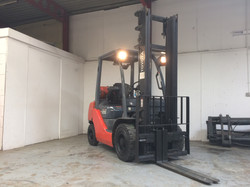 Toyota 02-8FGF25 LP Gas Forklift
