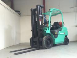 Mitsubishi FG25N LP Gas Forklift