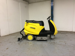 Karcher Ride-On Sweeper