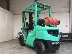 Mitsubishi FG25NT LP Gas Forklift