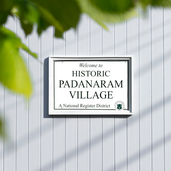 Padanaram Village Sign