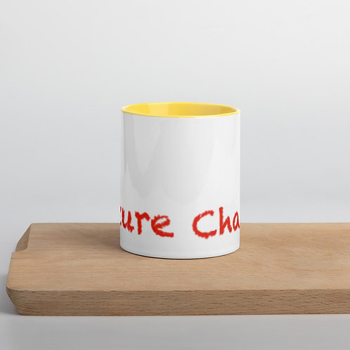 Red Future Change Mug with Color Inside