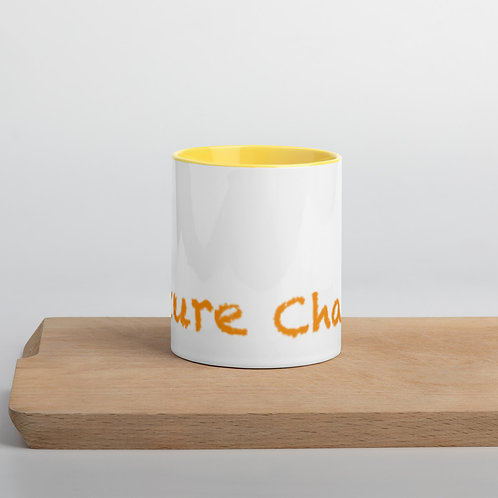Orange Future Change Mug with Color Inside