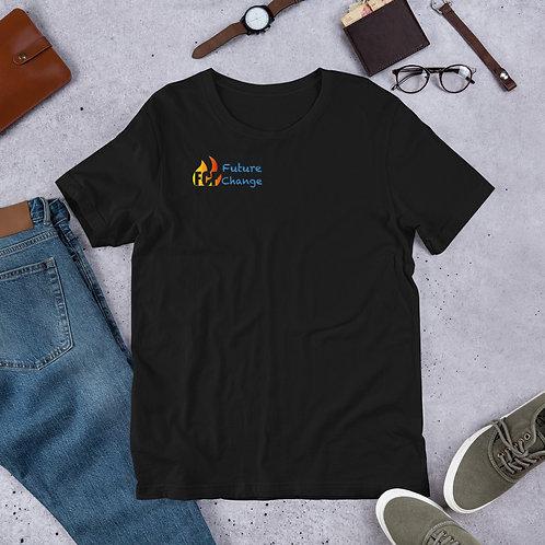 Blue Flame Short-Sleeve Unisex T-Shirt