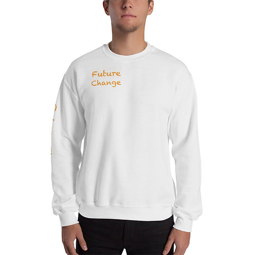 Orange Unisex Sweatshirt