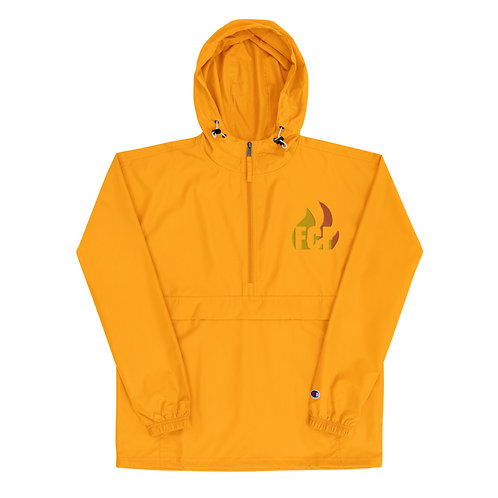 Logo Embroidered Champion Packable Jacket