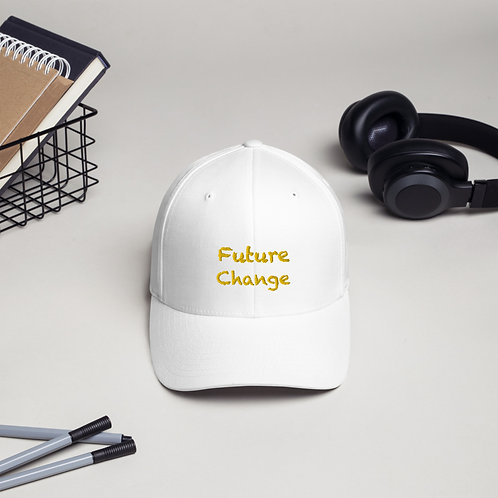 Yellow Structured Twill Cap