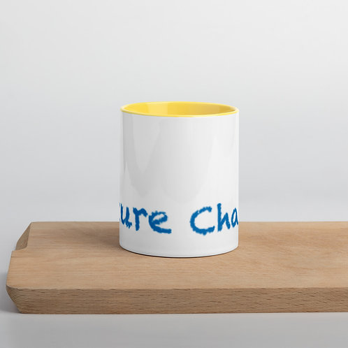 Blue Future Change Mug with Color Inside