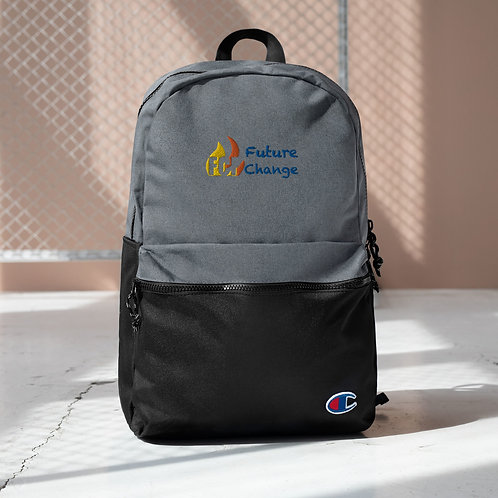 Future Change Embroidered Champion Backpack