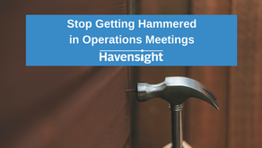 Stop Getting Hammered in Operations Meetings