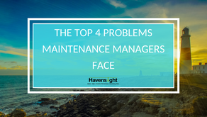 The Top 4 Problems Maintenance Managers Face