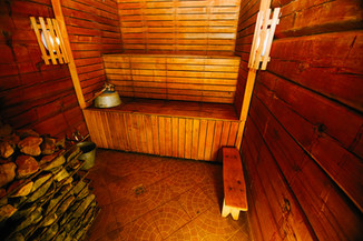Pirmas namukas sauna