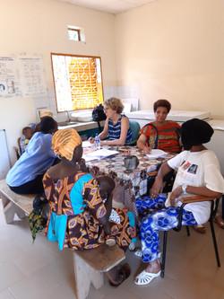 Pré-consultation (Kayenguissa)