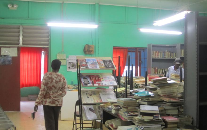 Bibliothèque de Kamsar