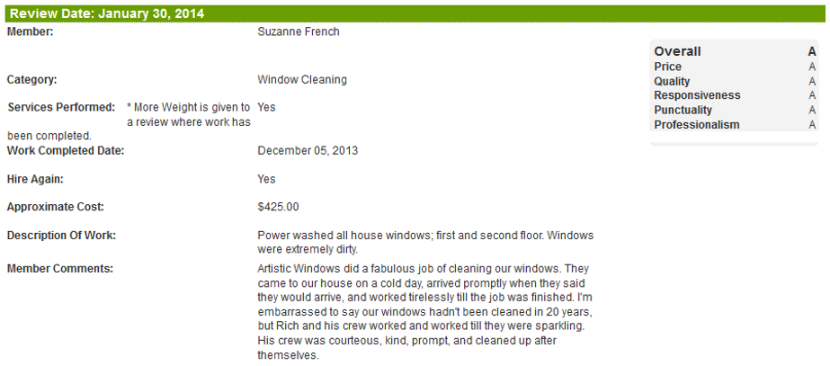 Window Cleaning, Morris County, Madison NJ