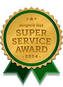 Artistic window cleaning 2014 Angie's List super service award