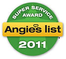 Artistic Window Cleaning 2011 Super Service Award