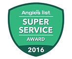 Artistic window cleaning 2016 Angie's List super service award