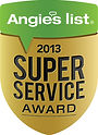 Artistic window cleaning 2013 Angie's List super service award