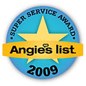 Artistic Window Cleaning 2009 Angie's list Super Service Award