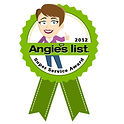 Artistic window cleaning 2012 Angie's List Super Service Award