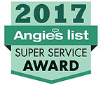 Artistic window cleaning 2017 Angie's ist super service award