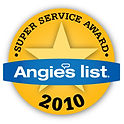 Artistic Window Cleaning 2010 Angie's List Super Service Award