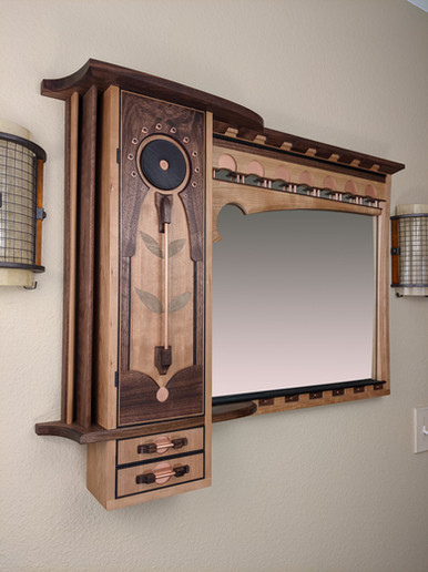 Signature Wall Mirror/Cabinet
